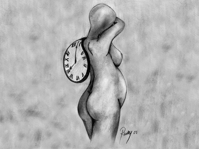 Rudy Roth - Grafica - Nasterea Timpului - The Birth of Time